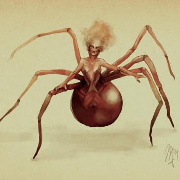 Spinne – Concept Art