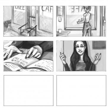 Storyboard – Blair Witch – Fanart