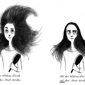 Illustration – Haare