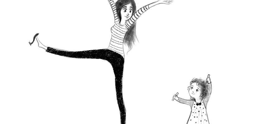 Tanz Illustration