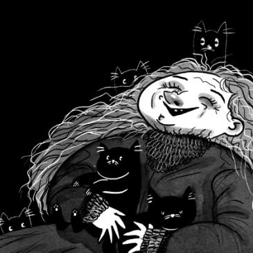 Inktober 2019 – The Addams Family Inktober